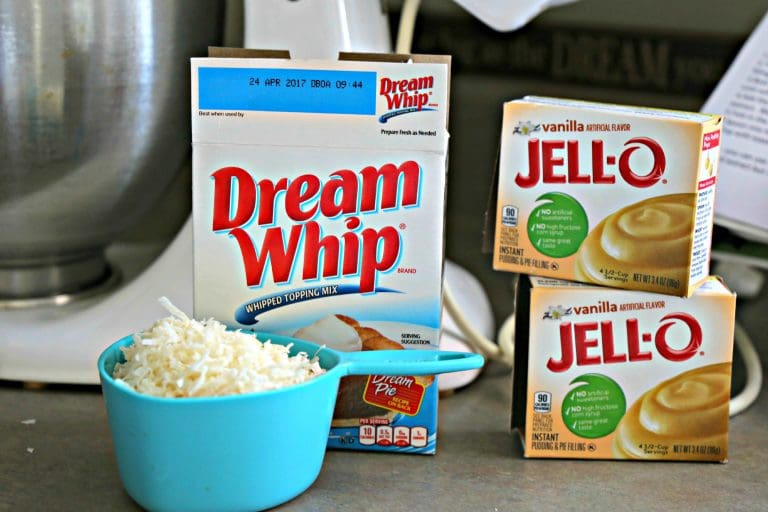 Dream Whip and Jell-O
