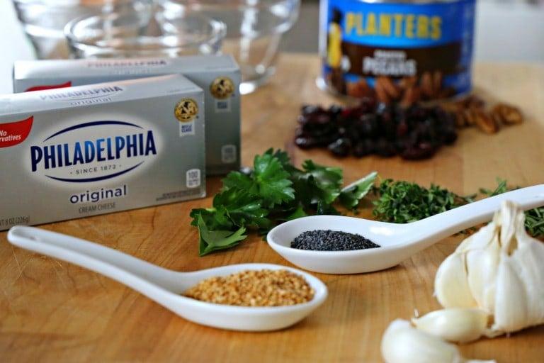 Savory Cheeseball Ingredients