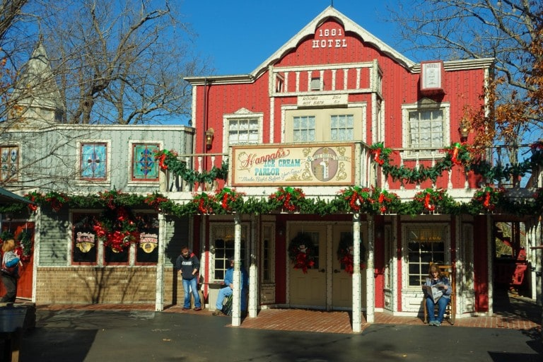 Silver Dollar City building in Branson