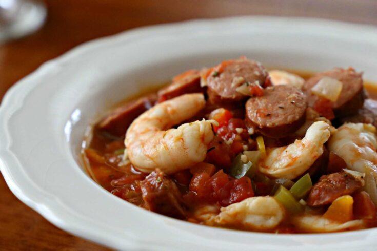 Shrimp and Sausage Jambalaya