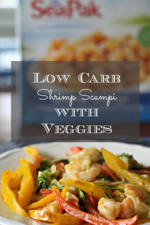 This recipe for Low Carb Shrimp Scampi is so delicious and easy to make, you'll want to add it to your weeknight menu this week.