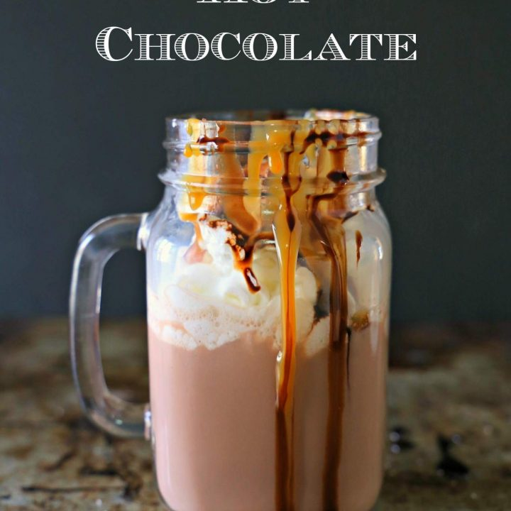 Easy Salted Caramel Hot Chocolate For Two