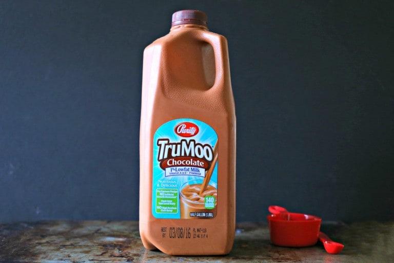 TruMoo Chocolate Milk jug