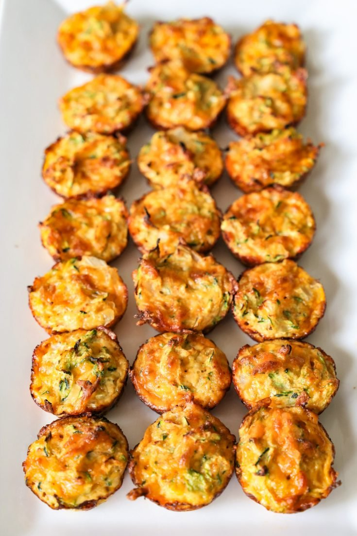 These simple keto Zucchini Tots from The Ketogenic Cookbook make a great low-carb snack or side dish. They are a delicious way to eat your veggies.