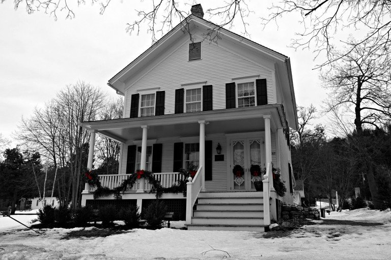 Historic Noble House in Fish Creek