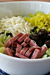 Low Carb Italian Salad