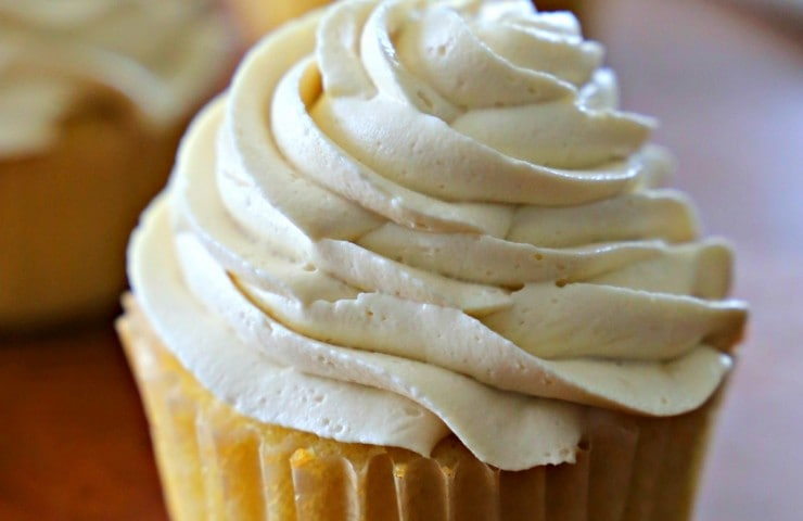 Small Batch Lemon Cupcakes