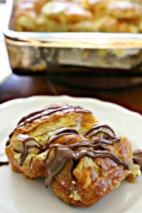 Croissant Bread Pudding From The Chew