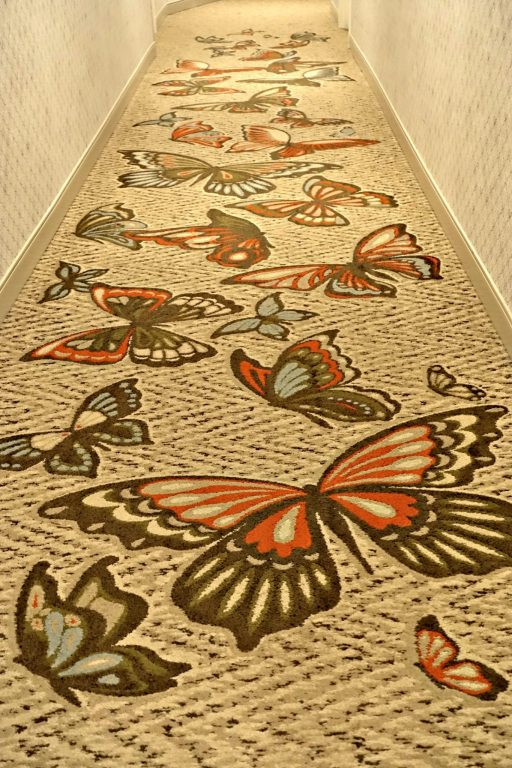 Butterfly carpet