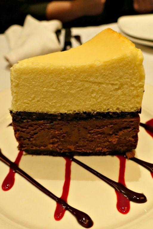 Cheesecake at Village Tavern