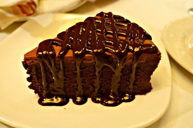 Chocolate Torte at Village Tavern in Birmingham, Alabama