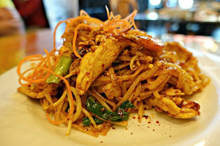 Plate of Pad Thai at Thai Smile