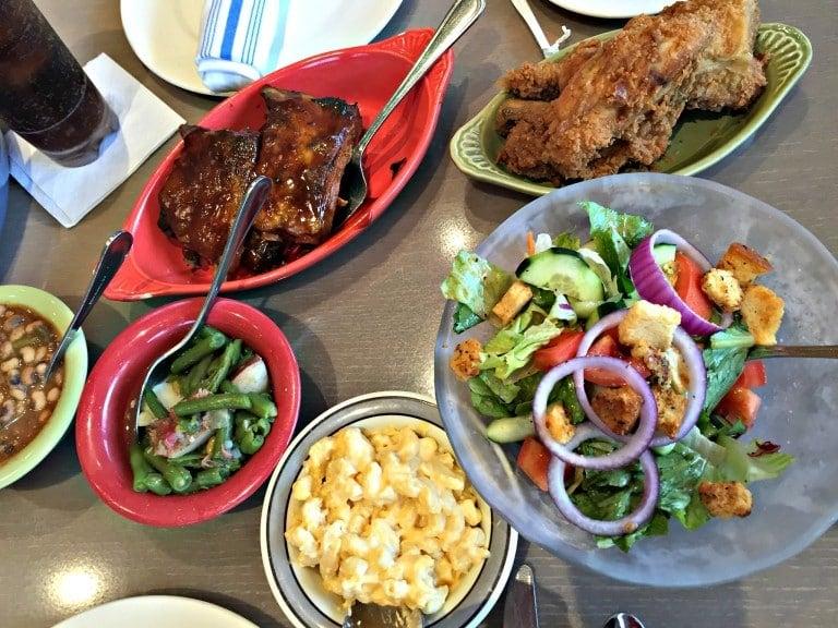 Dinner at Paula Deens