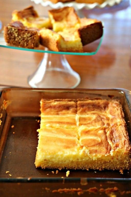 Paula Deen's Ooey Gooey Butter Cake (clone recipe)