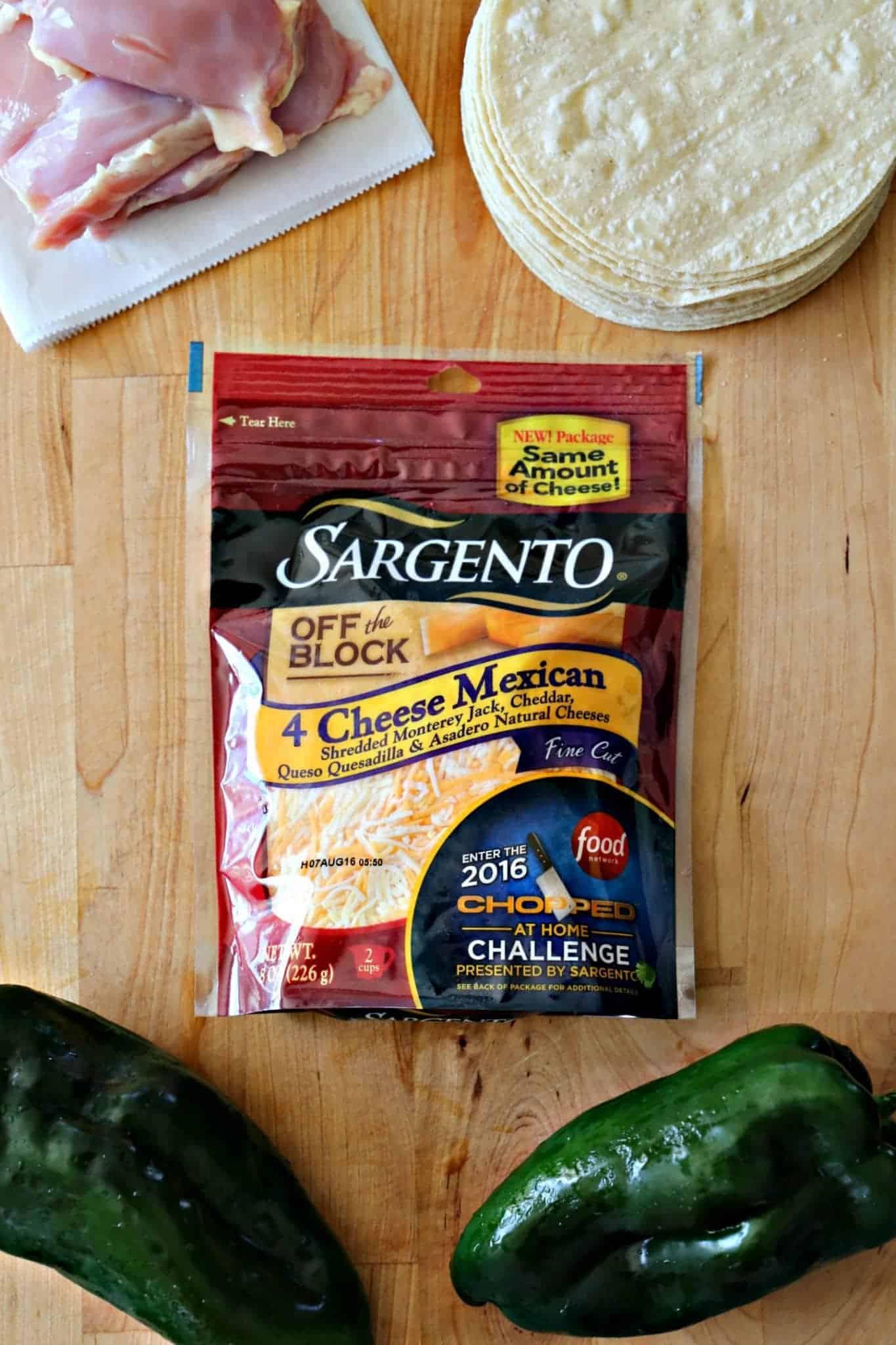 Sargento 4 Cheese Mexican