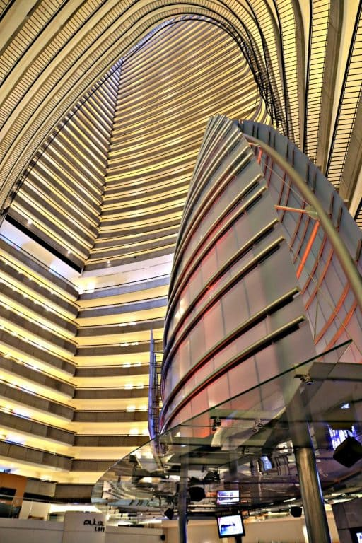 Inside the Atlanta Marriott Marquis