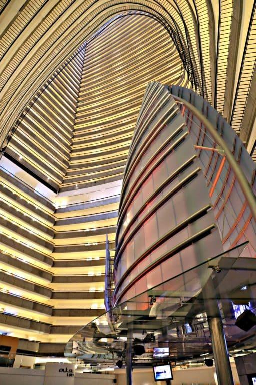 Inside the Atlanta Marriott Marquis