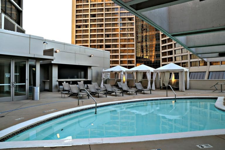 Outdoor Pool at the Atlanta Marriott Marquis