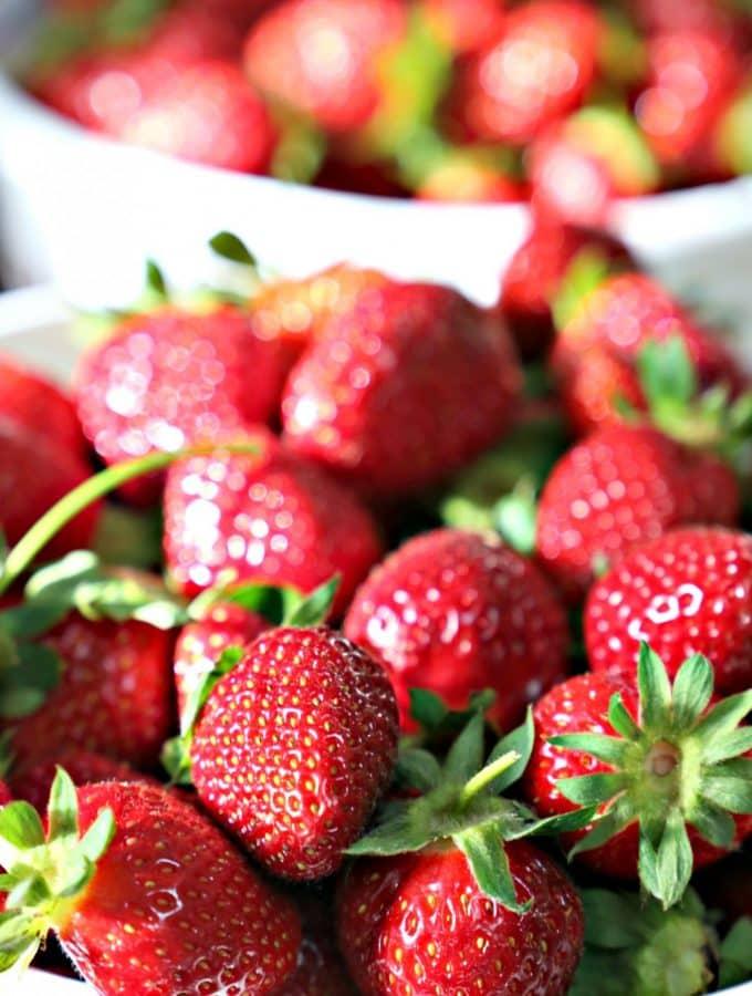 Buckets of Strawberries