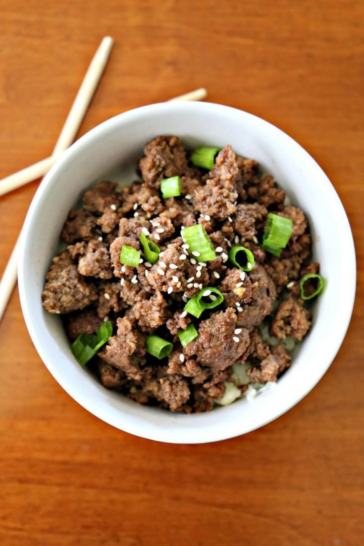 Korean Beef Bowls From The Best Grain-Free Family Meals on the Planet