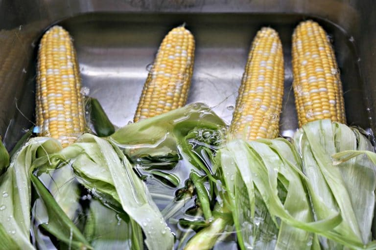 Soak corn