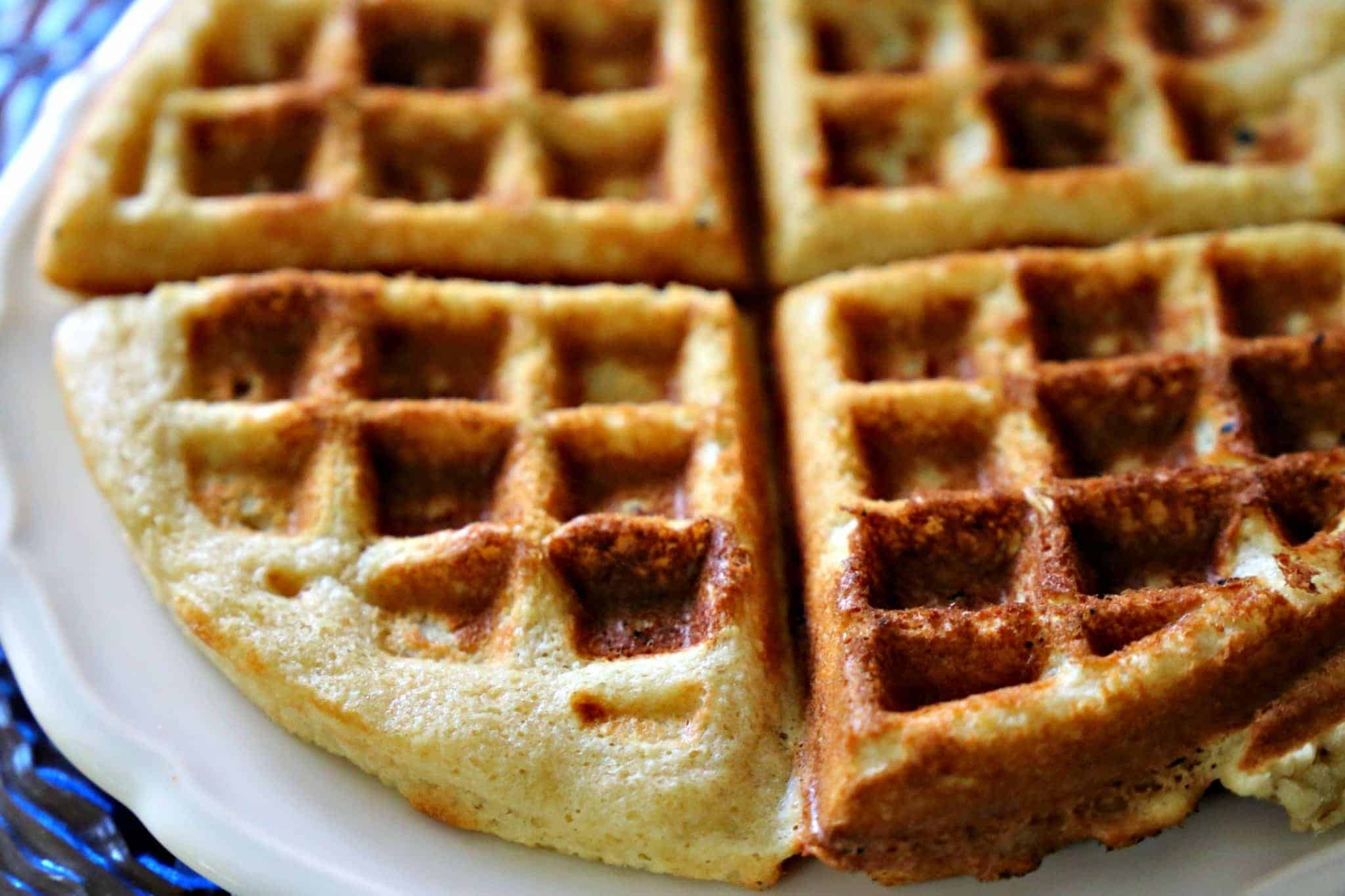 Crispy Belgian Waffles From Without Grain