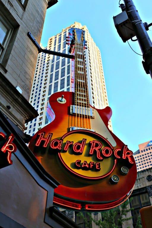 Hard Rock Cafe in Atlanta