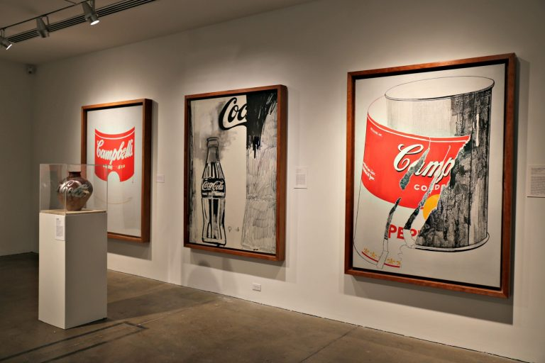 Campbells Soup Can by Andy Warhol