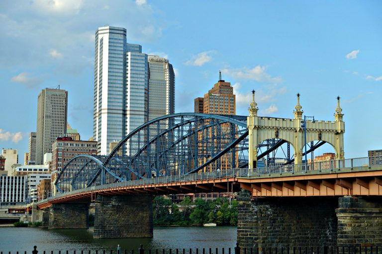 The beautiful PIttsburgh skyline