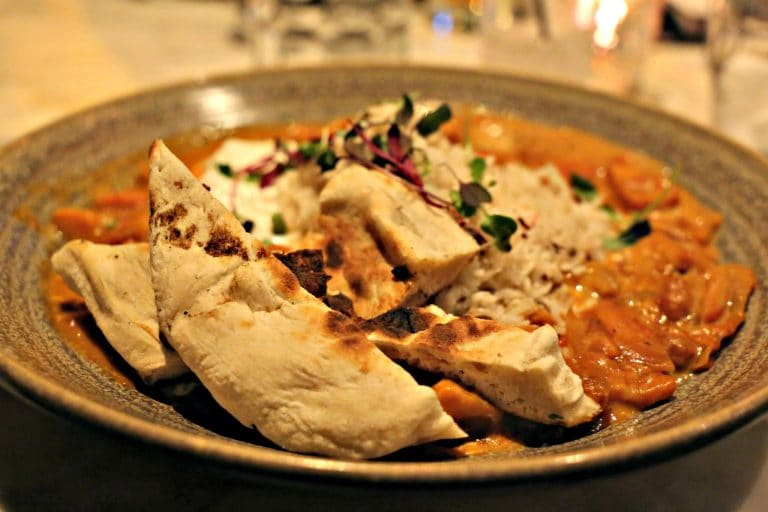Vegetarian Tikka Masala at The Commoner in Pittsburgh