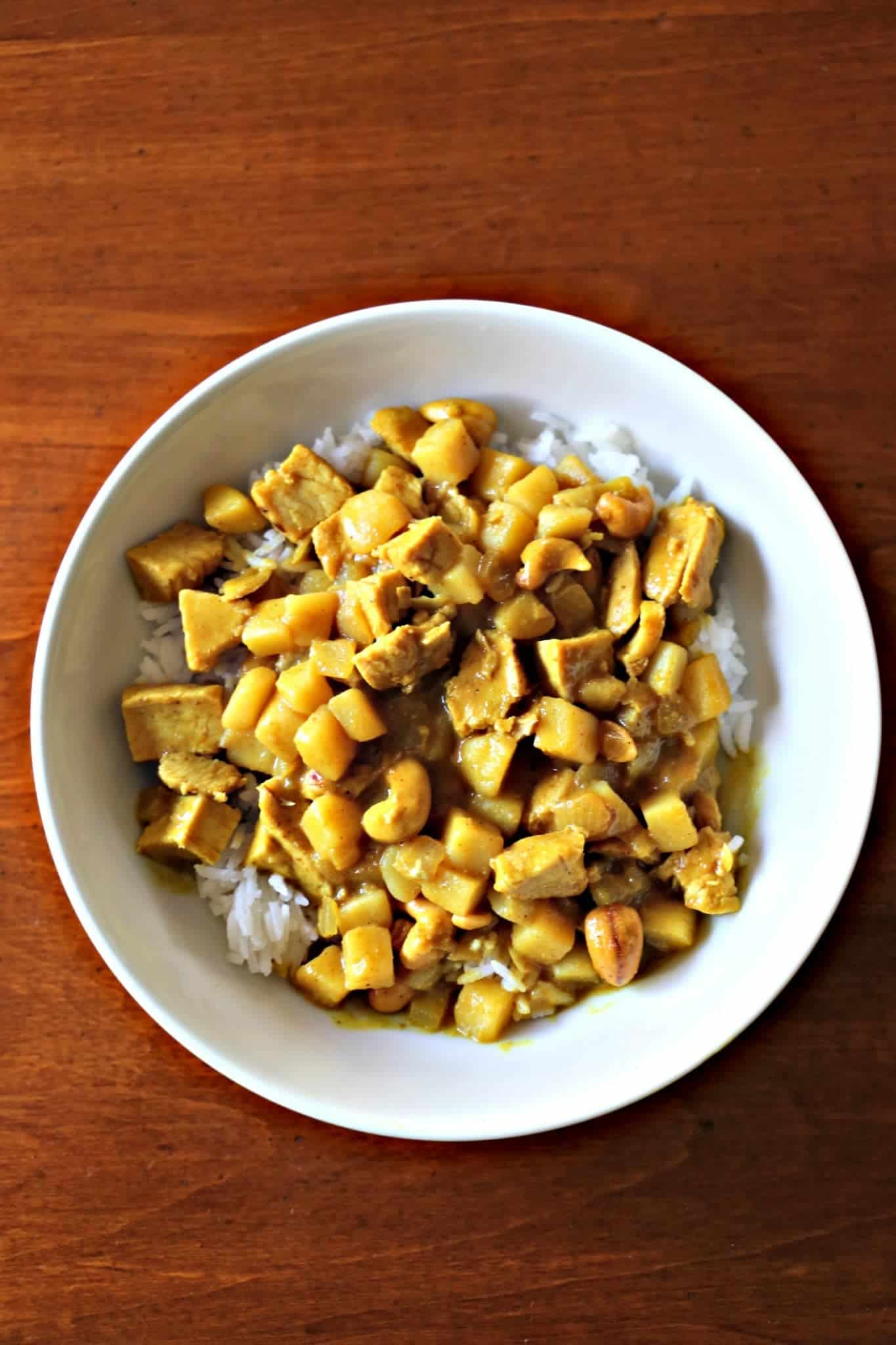 Massaman Curry In a Hurry