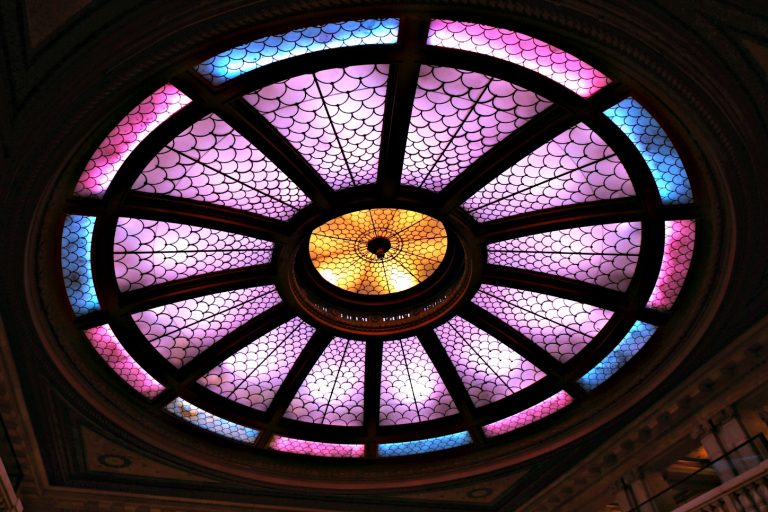 Stained Glass Dome at Renaissance PIttsburgh