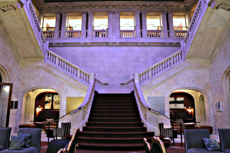 Staircase at Renaissance Pittsburgh