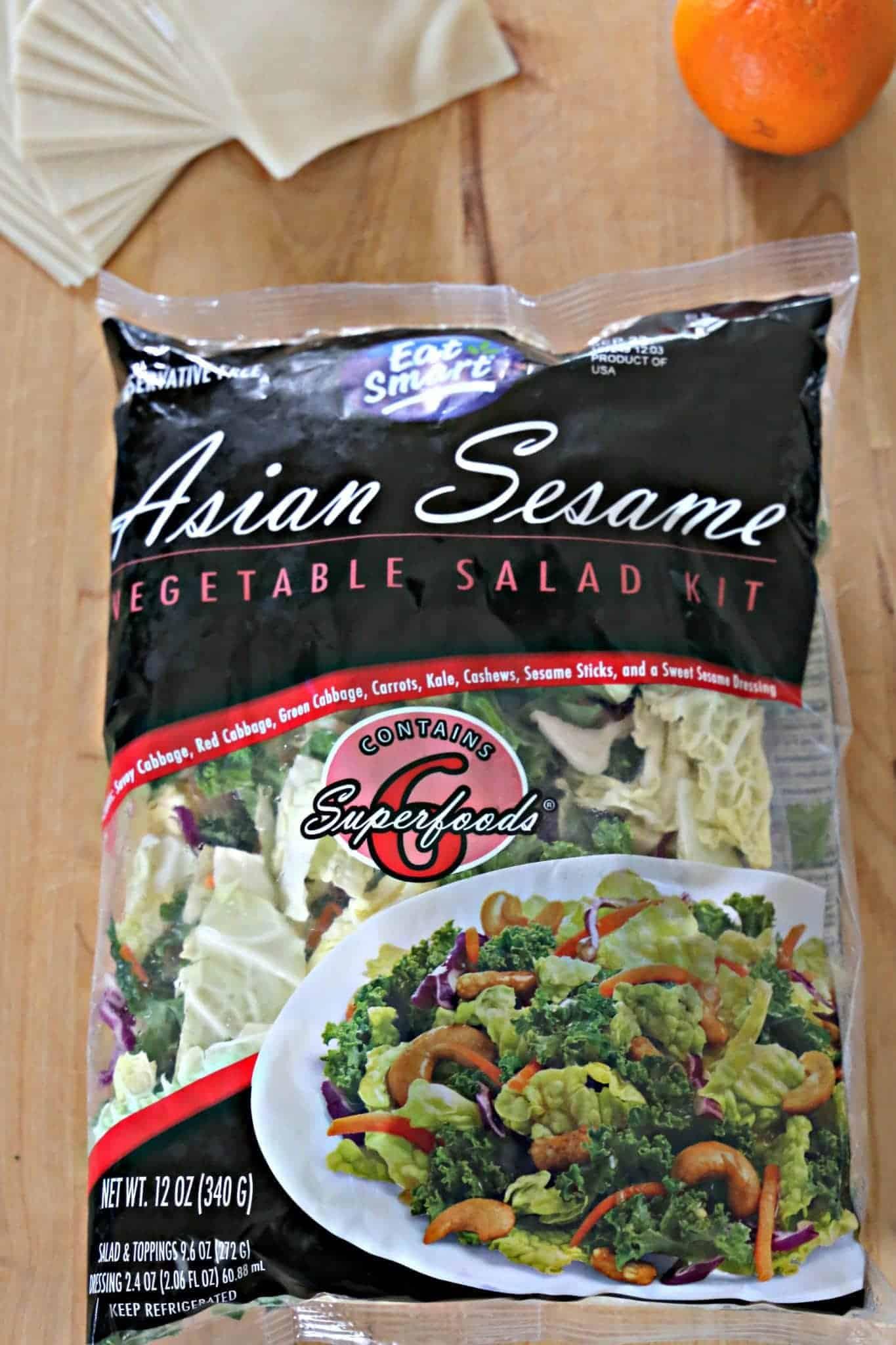 Eat Smart Gourmet Vegetable Salad kit