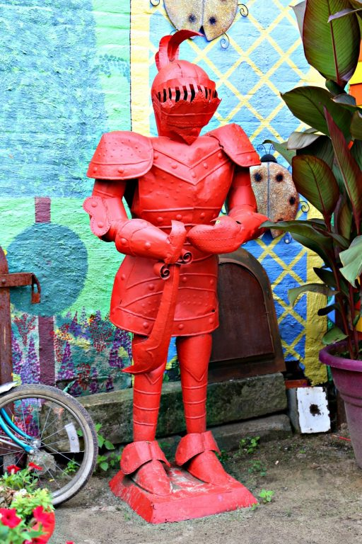 Red Knight at Randyland in PIttsburgh