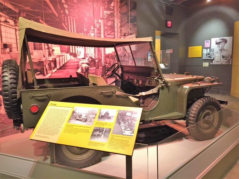 Jeep at Heinz History Museum in PIttsburgh