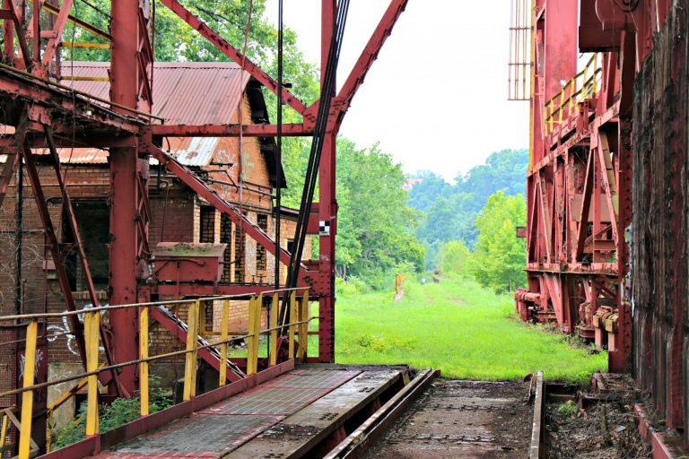 Carrie Furnace rail