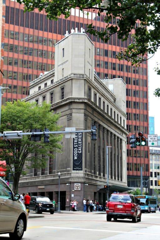 Wood Street Galleries in downtown Pittsburgh