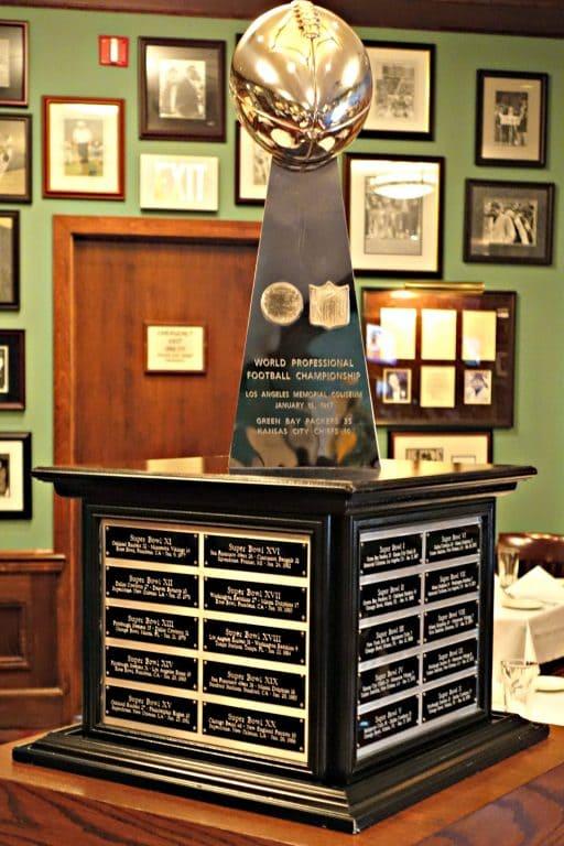 Super Bowl I trophy