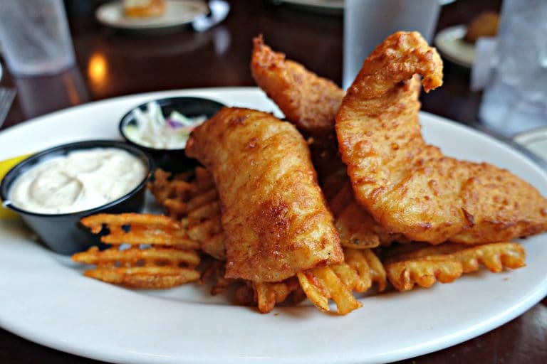Fish and Chips at Beefeaters British Grille & Ale House