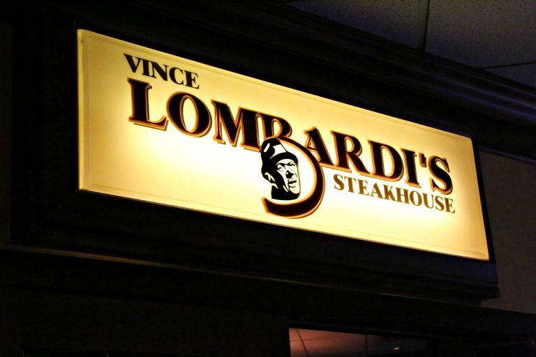 Vince Lombardi's Steakhouse in Appleton, Wisconsin