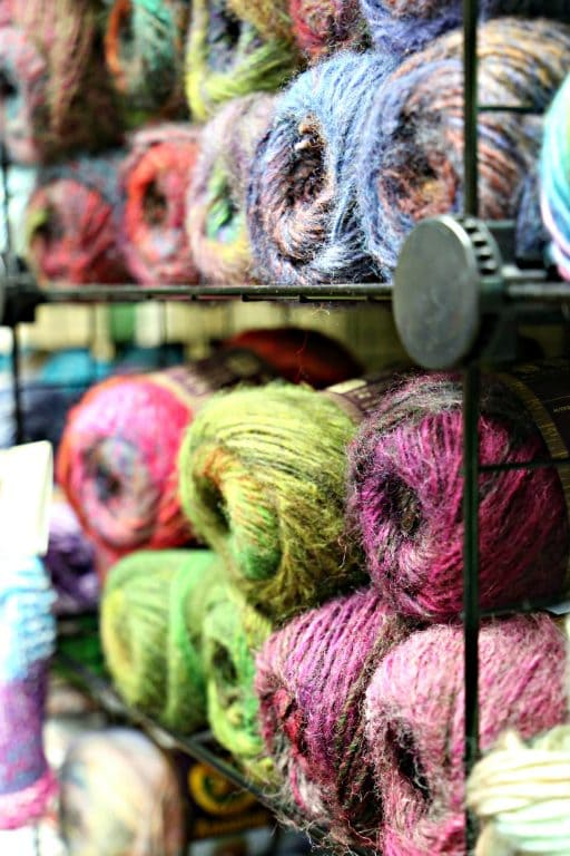 Yarn at Creative Juices in Kimberly, Wisconsin