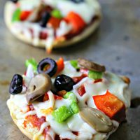 Quick and Easy Homemade Bagel Pizza Bites