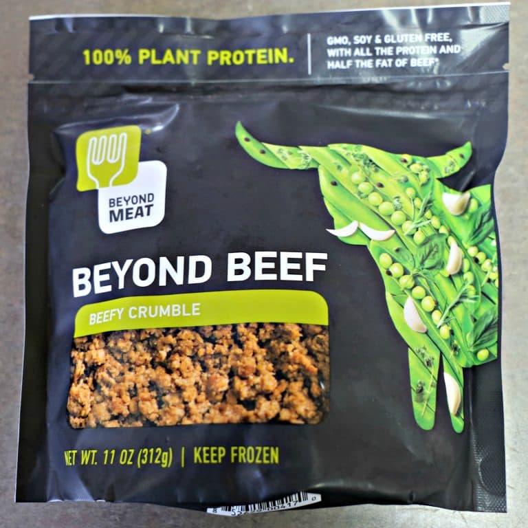 Beyond Beef beefy crumbles