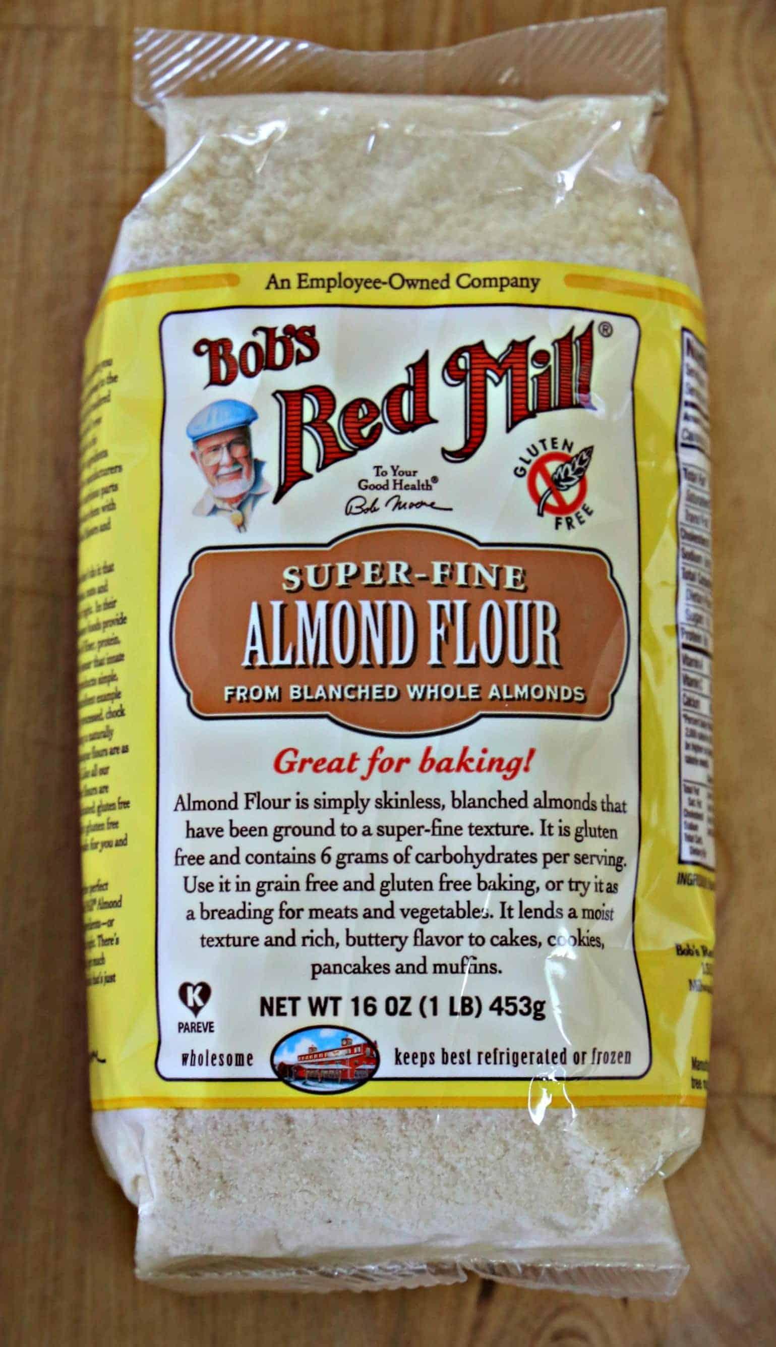 bag of almond flour