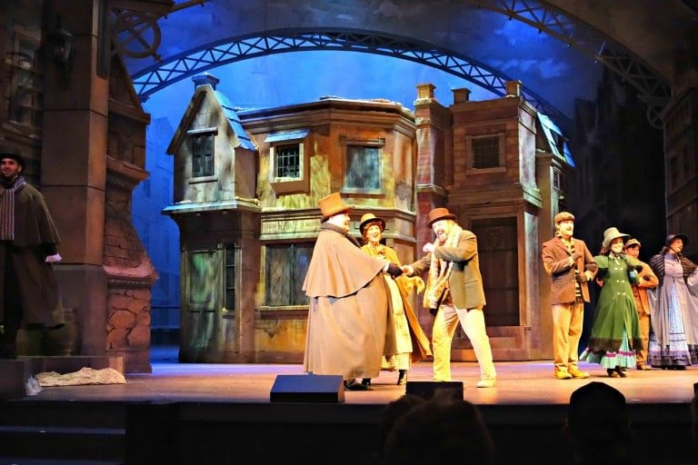 Dickens Christmas play at Silver Dollar City