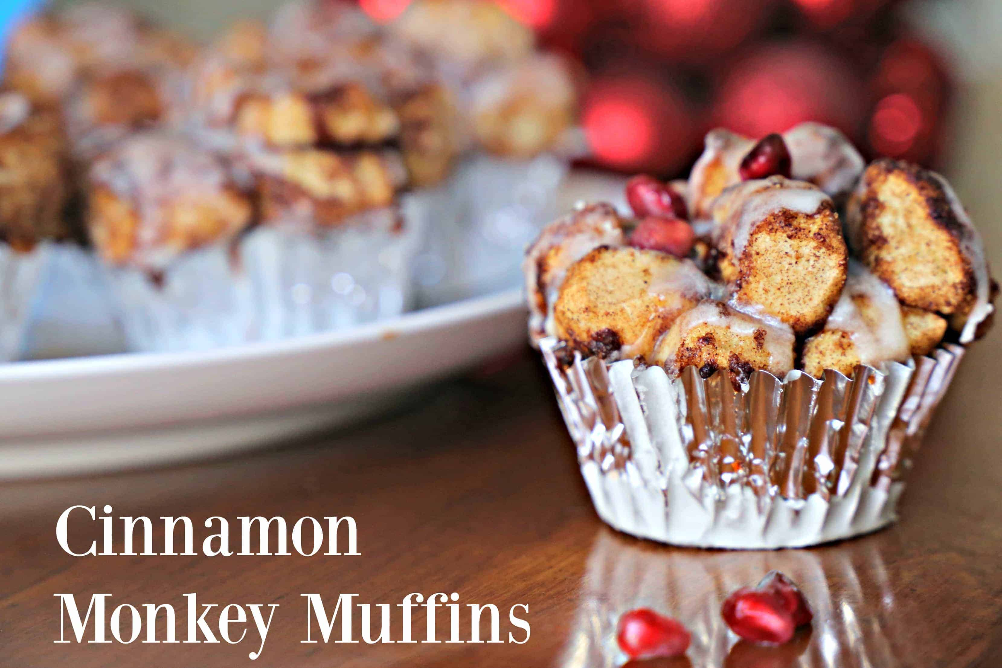 holiday cinnamon roll muffins