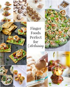 Finger Foods Perfect for Entertaining