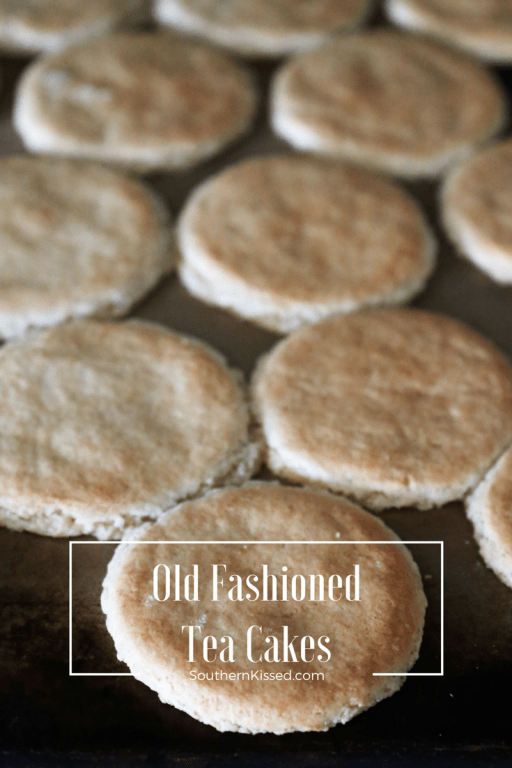 the best old fashioned tea cakes with self rising-flour