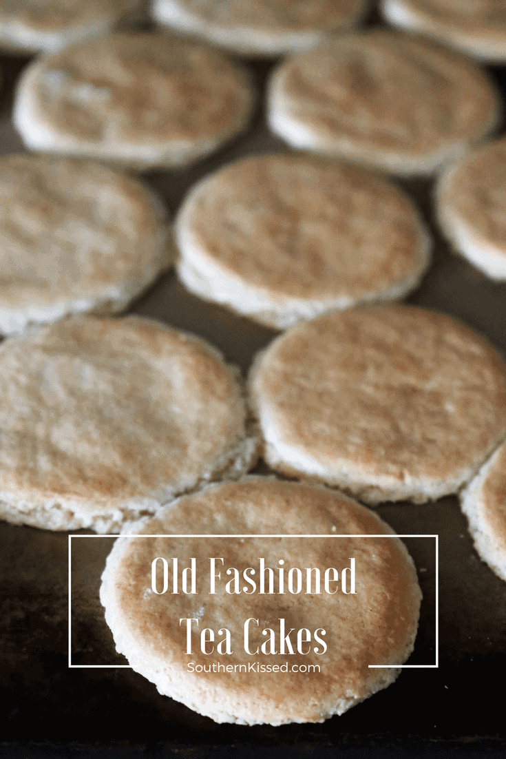 old fashioned tea cakes made with self rising-flour
